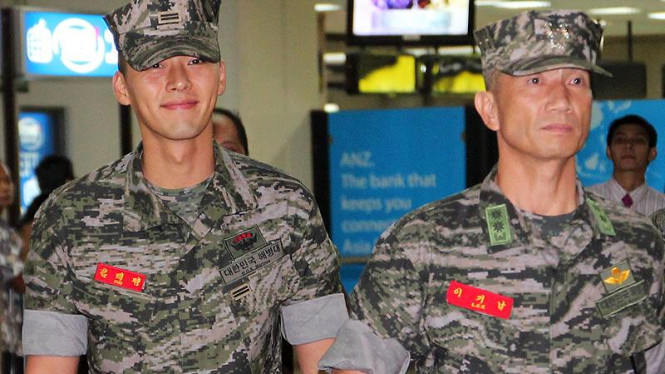 Aktor Korsel, Hyun Bin Tiba di Bandara Soekarno Hatta