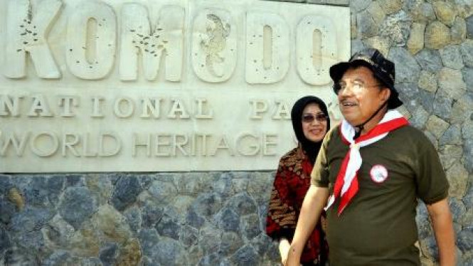 Jusuf Kalla, Duta Pemenangan Komodo