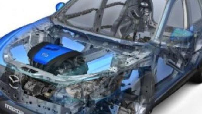 Teknologi baja tarik ultra-tinggi di Mazda CX-5