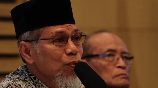 Mantan Penasihat KPK Abdullah Hehamahua