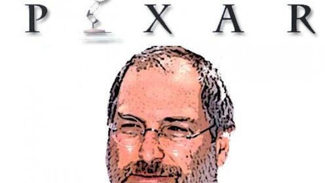 Pendiri Studio Animasi Pixar, Steve Jobs