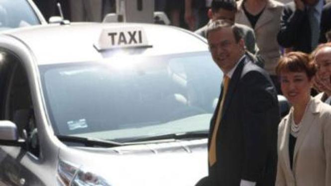 Taksi Listrik di Mexico