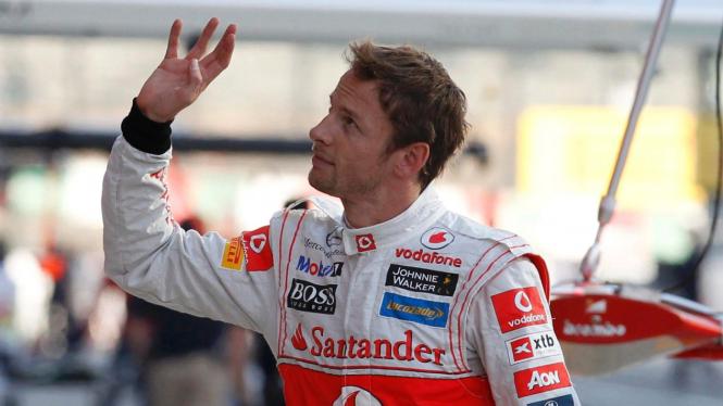 Jenson Button di GP Jepang