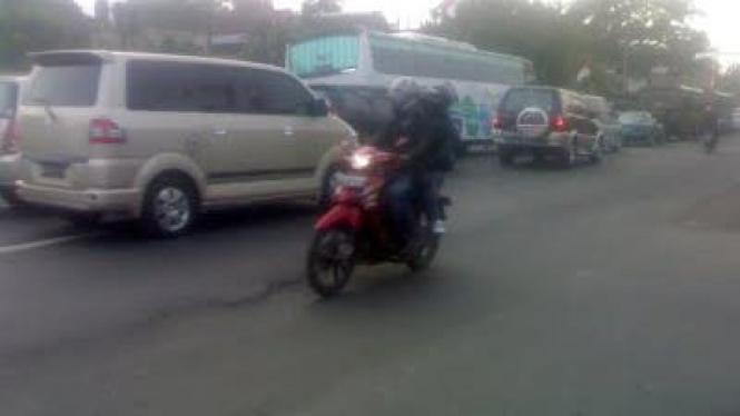 angka kecelakaan Kendaraan