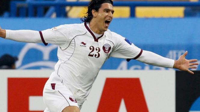 Striker timnas Qatar, Sebastian Soria