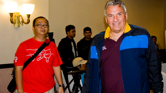 Pelatih Timnas Qatar Sebastiao Lazaroni
