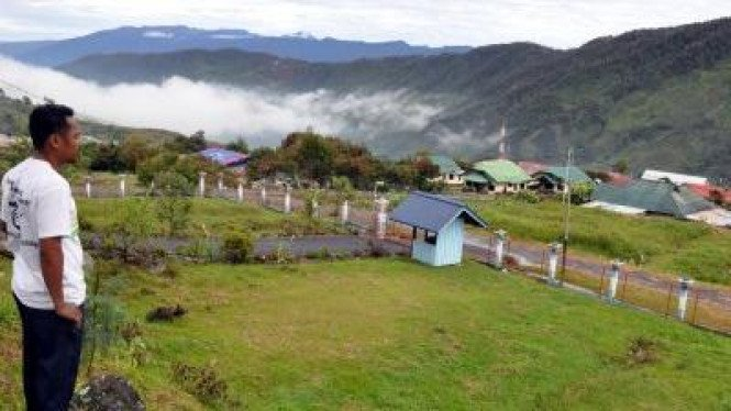 Kota Mulia, ibukota Kabupaten Puncak Jaya, Papua