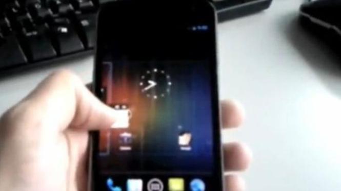 video bocoran Nexus Prime di YouTube
