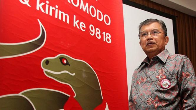 Vote Komodo, Duta Besar Pulau Komodo Jusuf Kalla