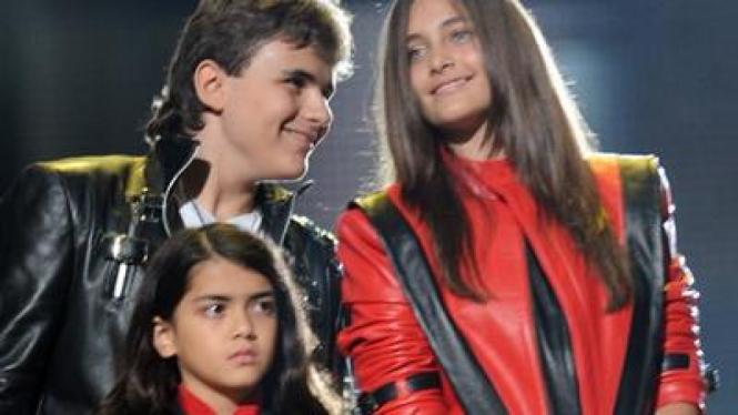 Ketiga anak Michael Jackson