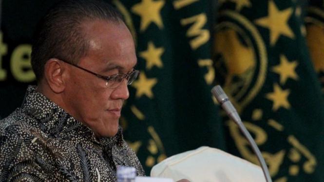 Aburizal Bakrie Rapat Pimpinan Muslimat NU 2011