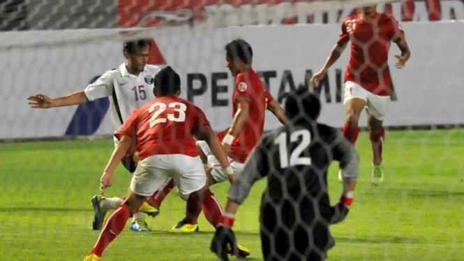 Pertandingan Indonesia vs Qatar