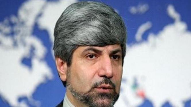 Juru bicara Kementerian Luar Negeri Iran, Ramin Mehmanparast