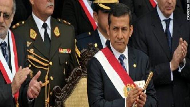 Ollanta Humala, Presiden Peru