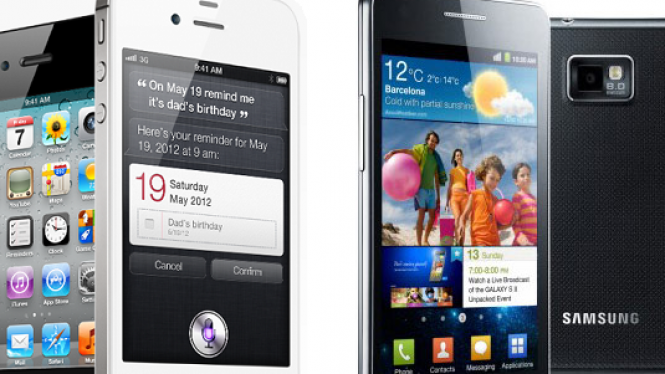 Apple iPhone 4S vs Samsung Galaxy S II