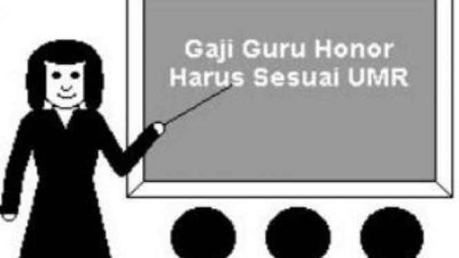 Ilustrasi Guru Honorer