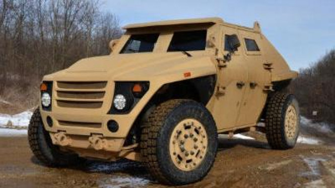 Kendaraan perang super ringan milik AS (FED ALPHA)