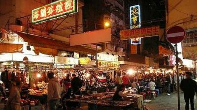 Temple Street Market, di Hongkong