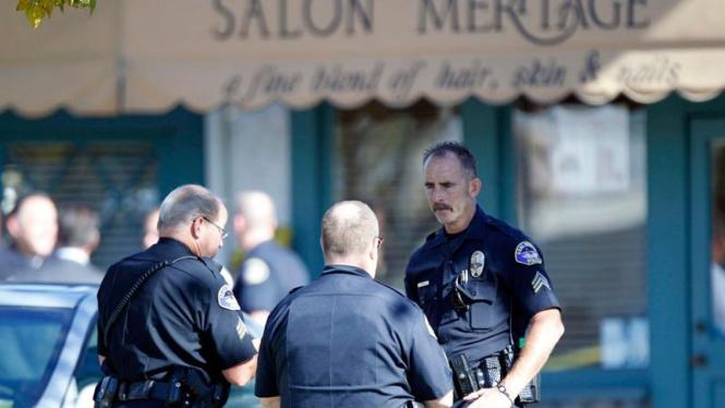 Penembakan di Salon Kecantikan  California, AS