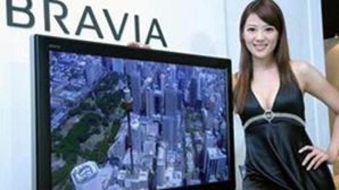 Televisi LCD Sony Bravia