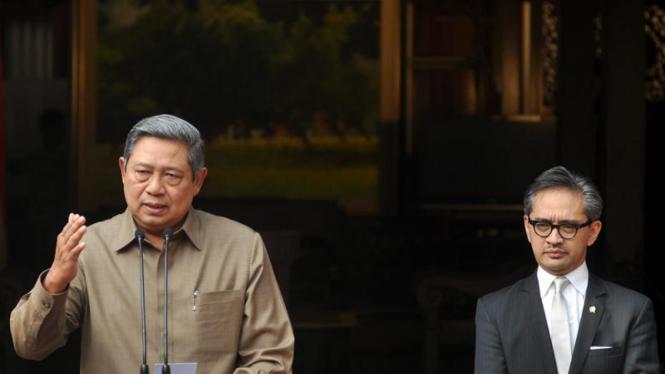 SBY dan menlu lakukan konpers