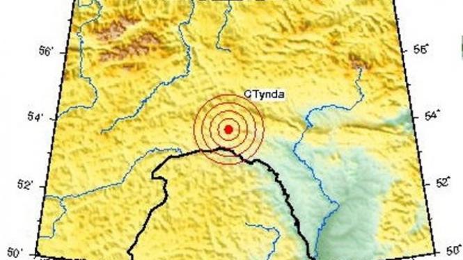 Gempa Siberia