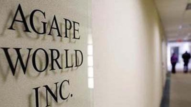 Agape World Inc
