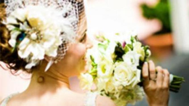 Penutup kepala saat pernikahan
