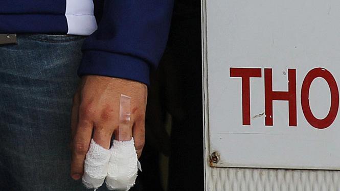 Cedera di jari Jorge Lorenzo