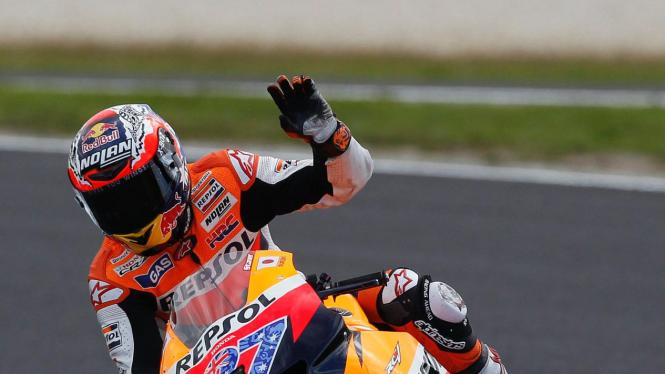 Casey Stoner di MotoGP Australia