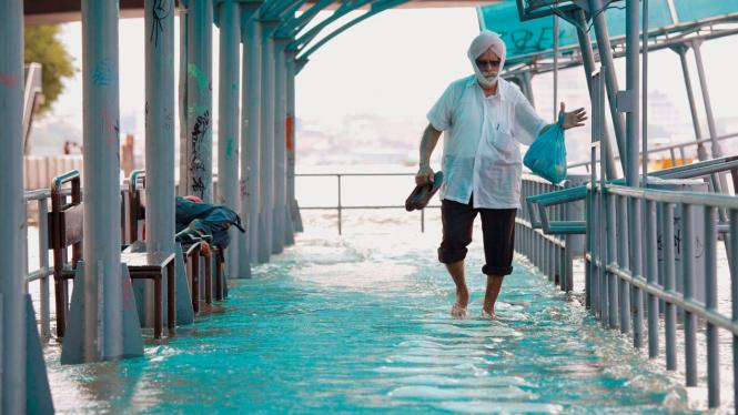 Banjir di Bangkok Thailand