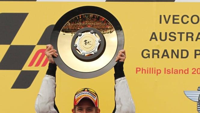Casey Stoner juara dunia 2011