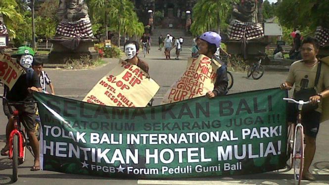 Walhi Bali tolak proyek KTT APEC