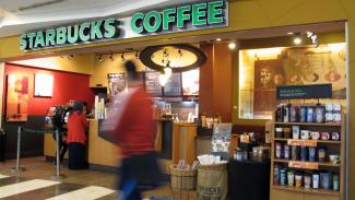 Starbucks Coffee.