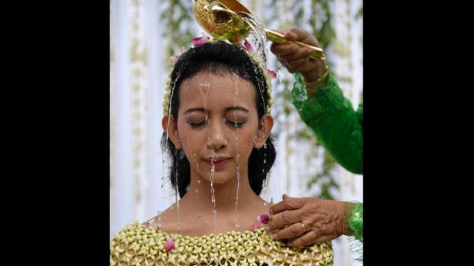 Ritual Siraman Kraton Yogyakarta (FOTO YG INI KHUSUS GALERI YA)