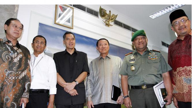 Lima calon menteri dan Kepala BIN
