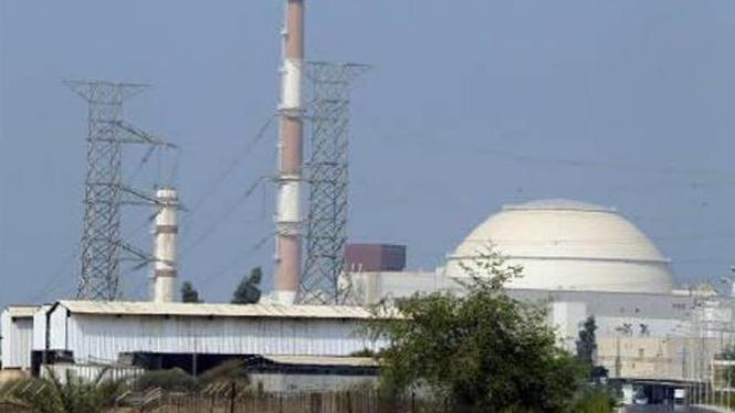 Instalasi nuklir Bushehr milik Iran.