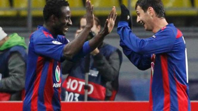 Seydou Doumbia dan Alan Dzagoev