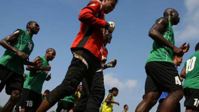 Latihan Persiwa Wamena