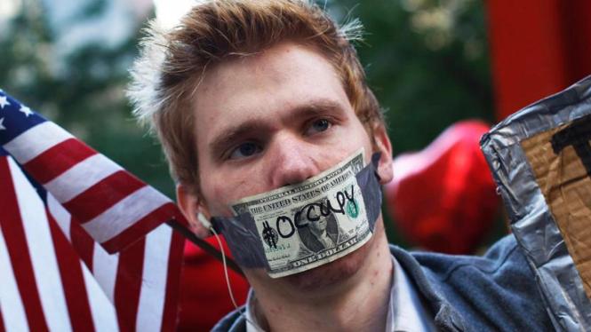 Aksi demo Occupy Wall Street