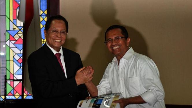 Sertijab Meneg BUMN di Jakarta 19 Oktober 2011