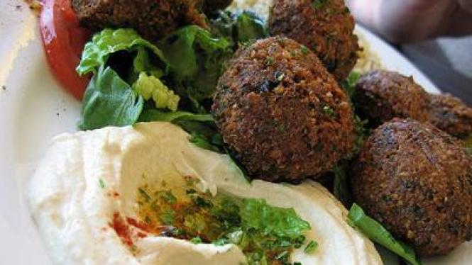 Falafel, gorengan khas Timur Tengah