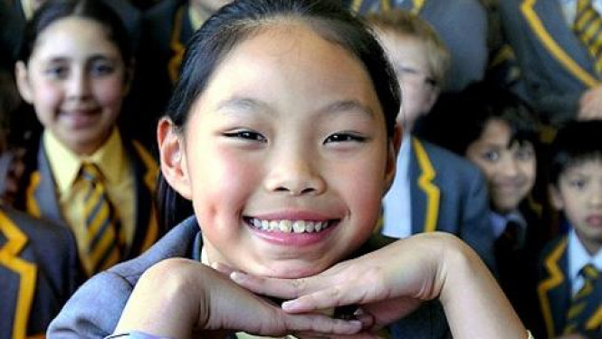 Sonia Yang, bocah yang menguasai 10 bahasa