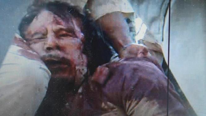 Pemimpin Libya Moammar Khadafi tewas ditembak