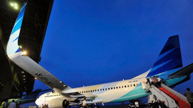 Pesawat Baru Garuda Indonesia