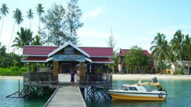 Pulau Derawan di Kalimantan Timur