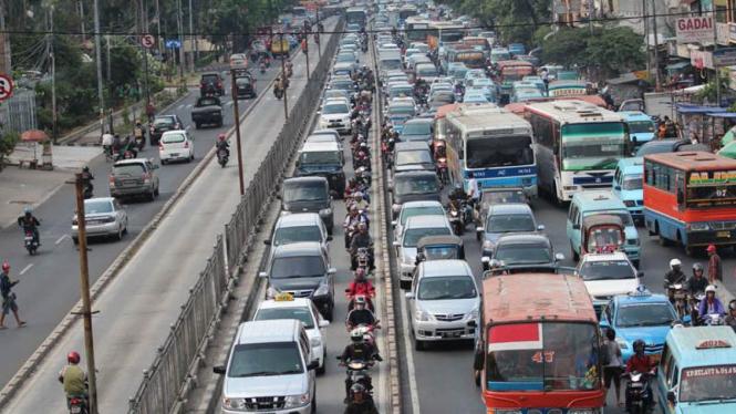 Kemacetan di Senen