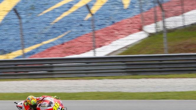Valentino Rossi di MotoGP Malaysia