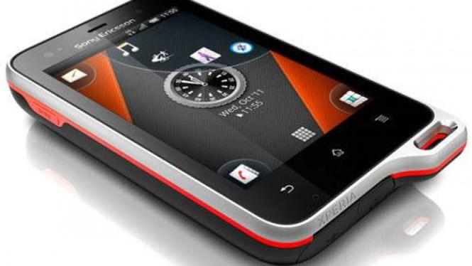 Sony Ericsson Xperia active.