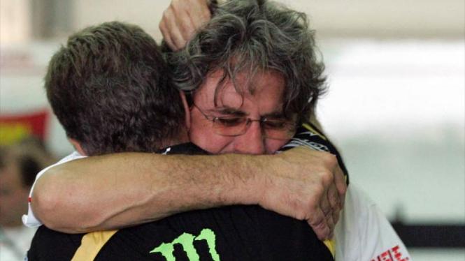 Marco Simoncelli di MotoGP Malaysia